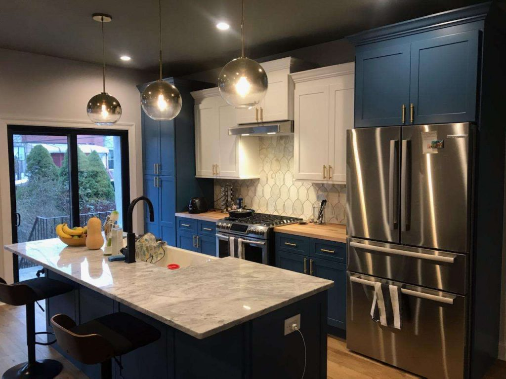 recent kitchen remodel in Brooklyn